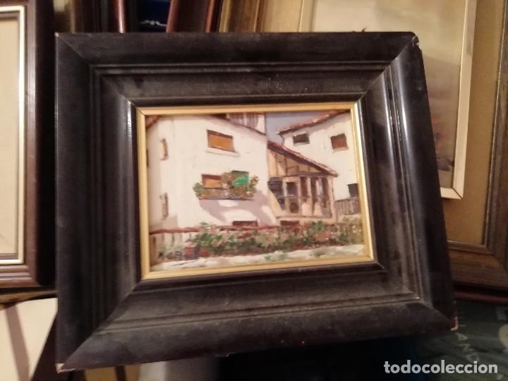 Coleccionismo: PINTURA ACUARELA: EN RELIEVE Y CON CUADRO FINAL - Foto 2 - 171019132
