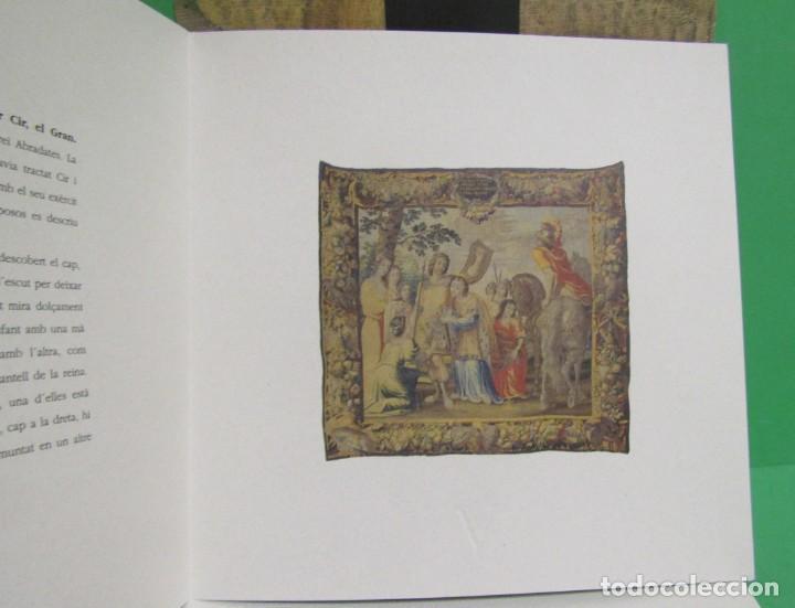 Coleccionismo: TARRAGONA CIR EL GRAN EXPOSICIÓ DE TAPISSOS DE LA CATEDRAL DE TARRAGONA 9 LAMINES FORMAT DIPTIC - Foto 5 - 171216195