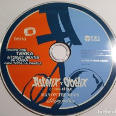 Coleccionismo: CD ROM ASTERIX Y OBELIX.MAN ON THE MOON.SLEEPY HOLLOW.TERRA 1998.. Lote 171227775