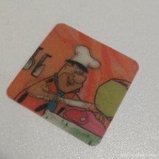Coleccionismo: HOLOGRAMA FLINSTONES PICAPIEDRA HANNA BARBERA PROMOCIONAL 3D CARTA CARD TARJETA CROMO. Lote 171239189