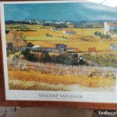Coleccionismo: VAN GOGH, LA COSECHA , ...CUADRO HISTORICO 1888. Lote 171316079