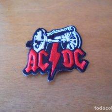 Coleccionismo: PARCHE DE TELA: AC-DC CON UN CAÑÓN.. Lote 171339448