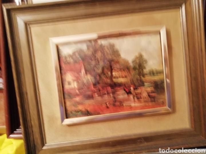 Coleccionismo: Cuadros de paisajes. Lote de 3 juntos. - Foto 3 - 171373763