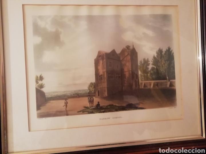 Coleccionismo: Cuadro harrow school. Descriptivo y gran Semblanza. - Foto 2 - 171373884