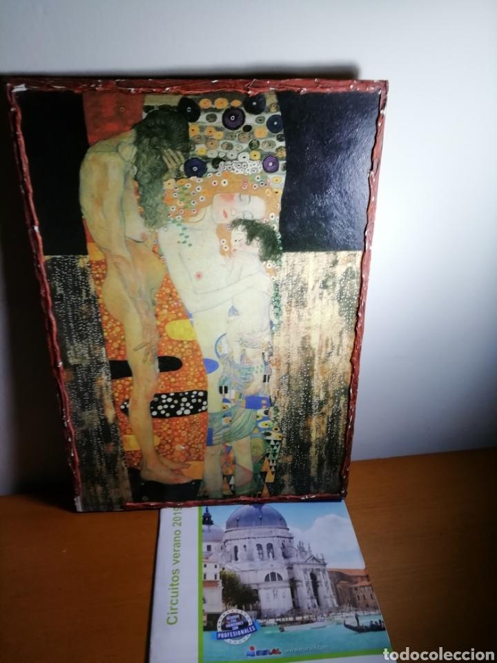 Coleccionismo: LAS 3 EDADES de la mujer. GUSTAV KLIMT 1925 - Foto 2 - 171451809