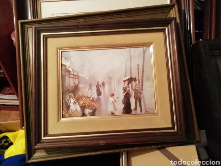 Coleccionismo: Cuadro reflejo de vida en sociedad - Foto 2 - 171454047