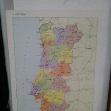 Coleccionismo: LMV - LÁMINA, MAPA DE PORTUGAL, ESCALA 1 : 2.000.000, 23 X 34 CM. Lote 171566110