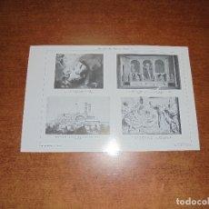 Coleccionismo: ANTIGUA LÁMINA: SAN ANTONIO DE PADUA I Y II. Lote 171640228