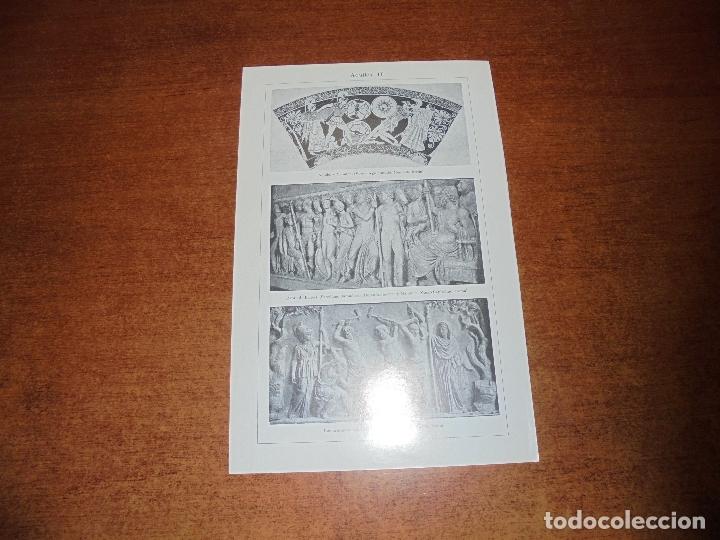 Coleccionismo: ANTIGUA LÁMINA: AQUILES I Y II - Foto 2 - 171640258