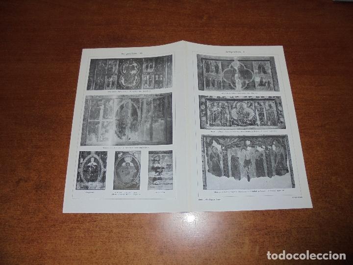 ANTIGUA LÁMINA: ANTIPENDIUM I Y II VICH. LÉRIDA. BARCELONA. MUNSTER. BAJA SAJONIA. (Coleccionismo - Laminas, Programas y Otros Documentos)