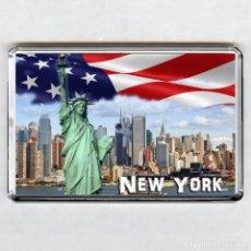 Coleccionismo: IMAN ACRÍLICO NEVERA - NEW YORK (USA). Lote 171793873