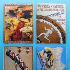 Coleccionismo: ANTIGUOS IMANES PARA NEVERA DE VALENCIA. Lote 172120780