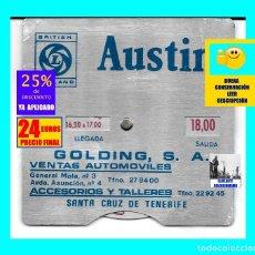 Coleccionismo: AUSTIN - BRITISH LEYLAND - DISCO CONTROL ESTACIONAMIENTO / APARCAMIENTO - ÚNICO - AÑOS 70 - 24 €. Lote 172375080