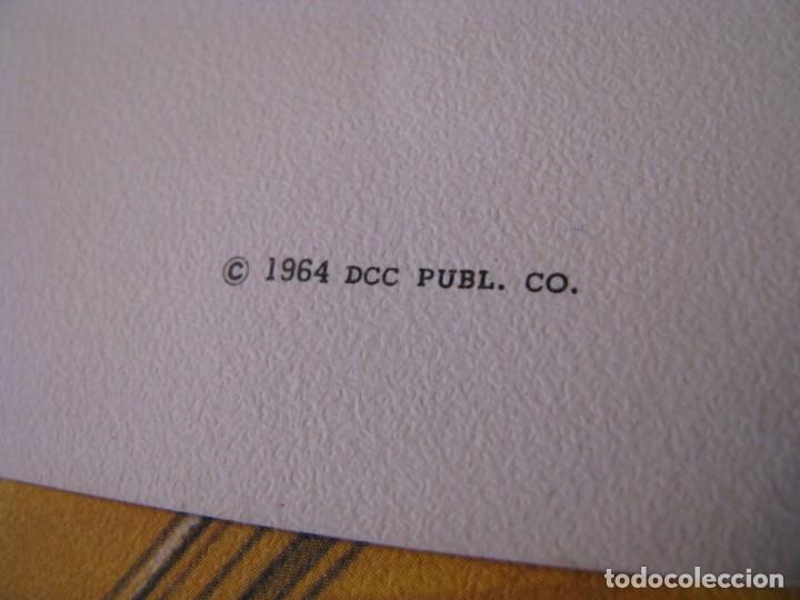 Coleccionismo: 12 LAMINAS DE DE DCC PUBL. CO. EE.UU. 1964. 35X27 CM. SERIE OCUPACIONES, PROFESIONES. - Foto 3 - 172394680
