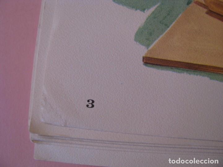 Coleccionismo: 12 LAMINAS DE DE DCC PUBL. CO. EE.UU. 1964. 35X27 CM. SERIE OCUPACIONES, PROFESIONES. - Foto 5 - 172394680