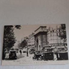 Coleccionismo: PARIS AUTOMÓVILES FOTO BUS DE BORTON MARCA FRANCESA. Lote 172554988