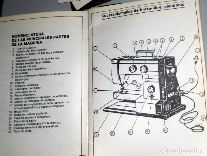 libro manual de instrucciones maquina coser alf - Comprar