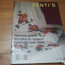 Coleccionismo: REVISTA PINTURA SOBRE SEDA, ZENTI'S. Lote 172879500