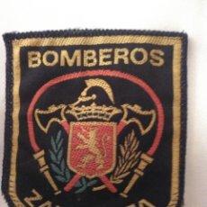 Coleccionismo: PARCHE CUERPO BOMBEROS DE ZARAGOZA. Lote 173115099