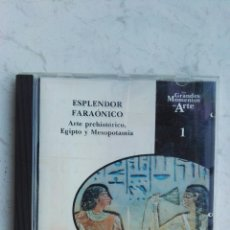 Coleccionismo: ESPLENDOR FARAÓNICO ARTE PREHISTÓRICO, EGIPTO Y MESOPOTAMIA CD. Lote 173753318