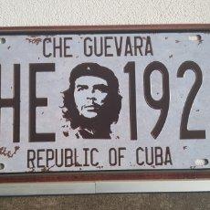 Coleccionismo: CHAPA METÁLICA ERNESO CHE GUEVARA REPUBLIC OF CUBA.CHE 1928.. Lote 173898092