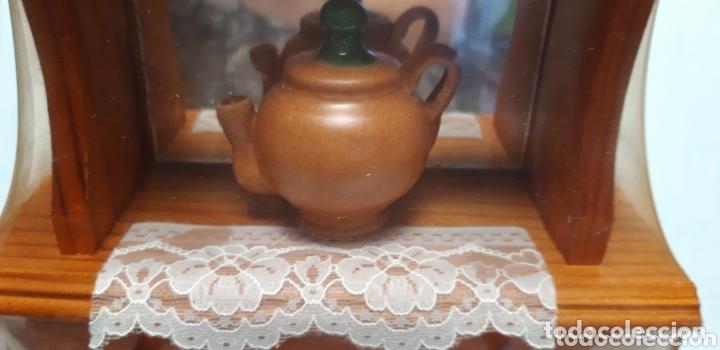 Coleccionismo: MUEBLE DECORACION EN MADERA 36 X 19 X 7 CM A ESTRENAR - Foto 3 - 173930617