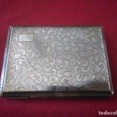 Coleccionismo: ANTIGUA PITILLERA METAL DORADA. Lote 173960497