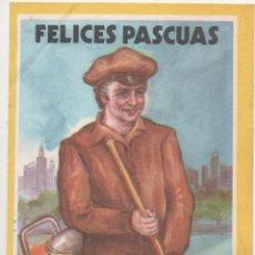 Coleccionismo: FELICES PASCUAS LIMPIEZA PUBLICA. Lote 173961092
