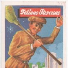 Coleccionismo: FELICES PASCUAS LIMPIEZA PUBLICA. Lote 173961178