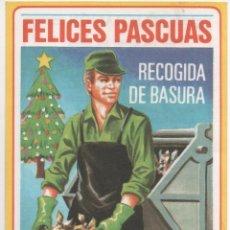 Coleccionismo: FELICES PASCUAS RECOGIDA BASURA. Lote 173961220