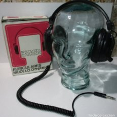 Coleccionismo: ANTIGUOS CASCOS AURICULARES BYKSA, MODELO DYNAMIC ED-900V, MADE IN SPAIN, AÑOS 70-80. Lote 173998014