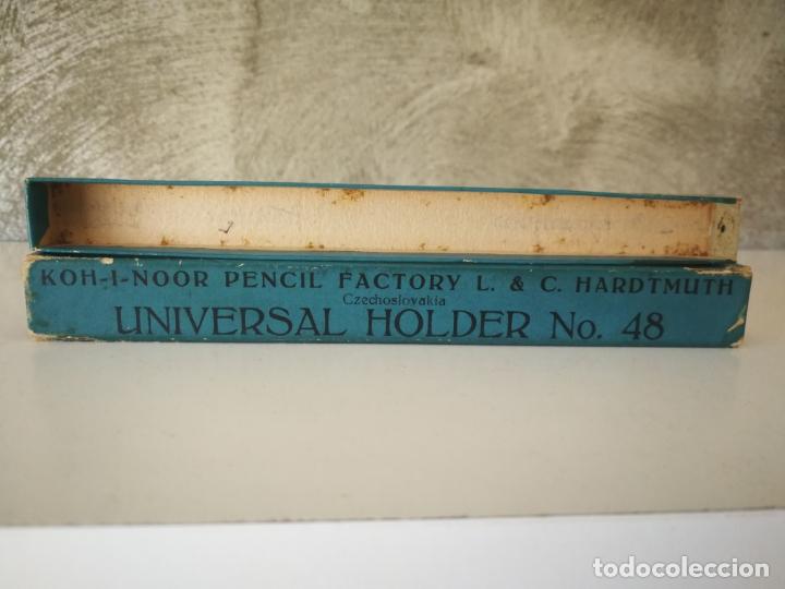 Coleccionismo: ANTIGUO PORTAMINAS KOH I NOOR HARDTMUTH UNIVERSAL HOLDER 48 - Foto 7 - 174017914