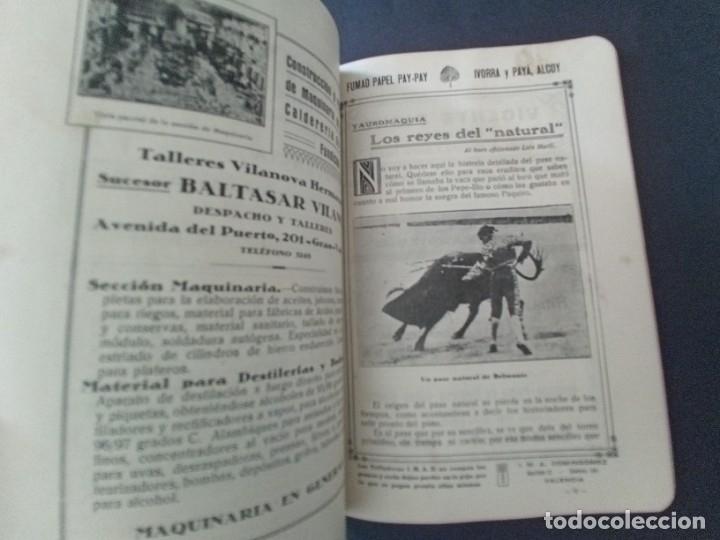 Coleccionismo: CTC - PROGRAMA FESTEJOS VALENCIA FERIA 1922 - PORTADA L. DUBON - MARAVILLOSO E IDEAL CONSERVADO - Foto 8 - 174084304
