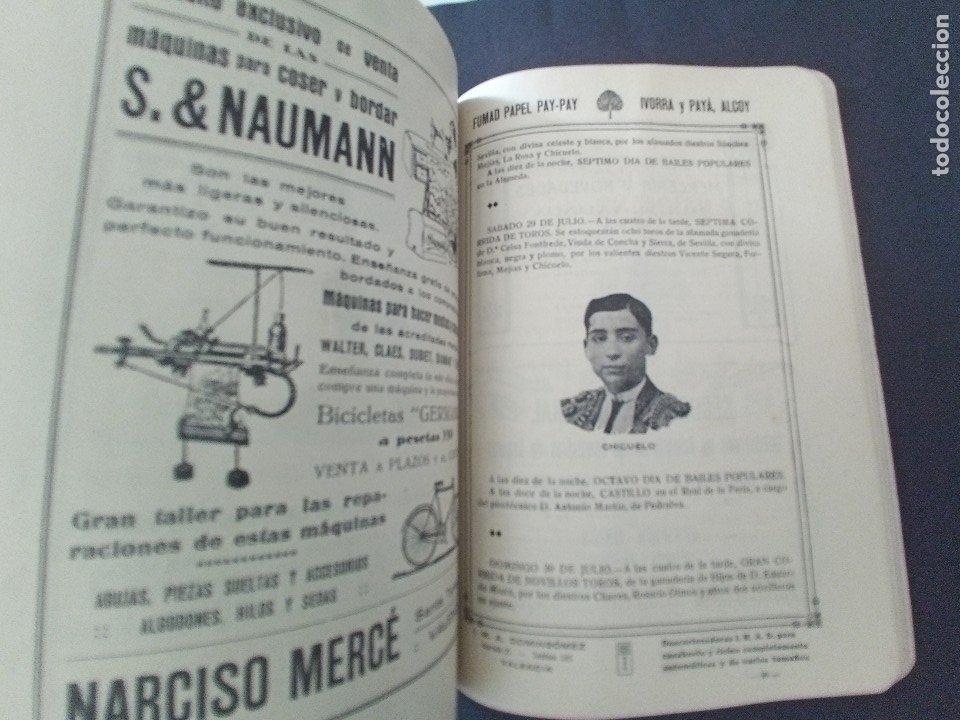 Coleccionismo: CTC - PROGRAMA FESTEJOS VALENCIA FERIA 1922 - PORTADA L. DUBON - MARAVILLOSO E IDEAL CONSERVADO - Foto 12 - 174084304