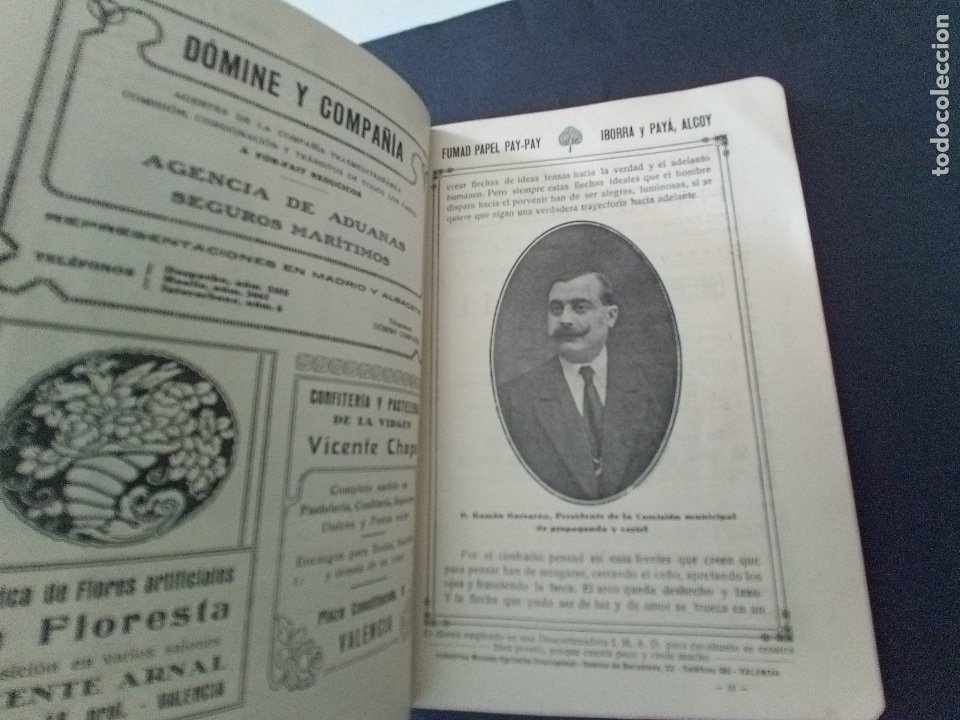 Coleccionismo: CTC - PROGRAMA FESTEJOS VALENCIA FERIA 1922 - PORTADA L. DUBON - MARAVILLOSO E IDEAL CONSERVADO - Foto 5 - 174084304