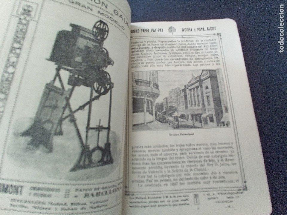 Coleccionismo: CTC - PROGRAMA FESTEJOS VALENCIA FERIA 1922 - PORTADA L. DUBON - MARAVILLOSO E IDEAL CONSERVADO - Foto 6 - 174084304