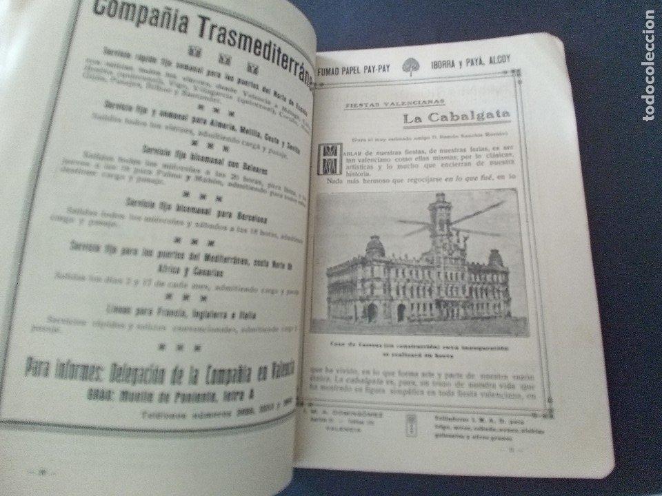 Coleccionismo: CTC - PROGRAMA FESTEJOS VALENCIA FERIA 1922 - PORTADA L. DUBON - MARAVILLOSO E IDEAL CONSERVADO - Foto 7 - 174084304
