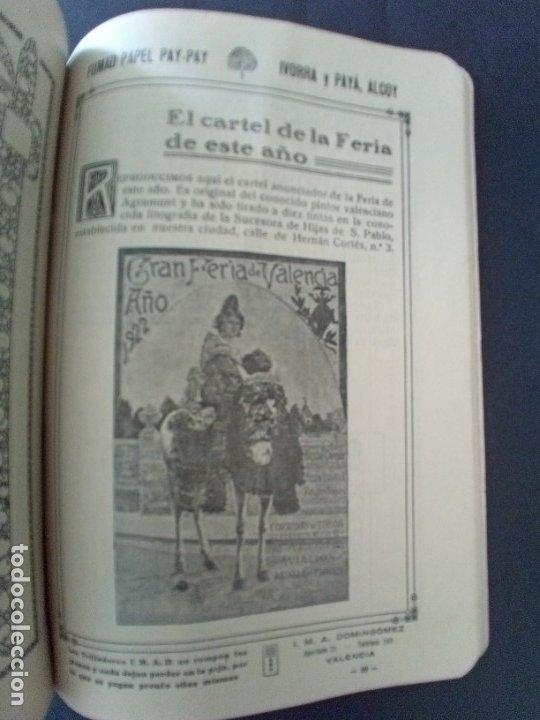Coleccionismo: CTC - PROGRAMA FESTEJOS VALENCIA FERIA 1922 - PORTADA L. DUBON - MARAVILLOSO E IDEAL CONSERVADO - Foto 11 - 174084304
