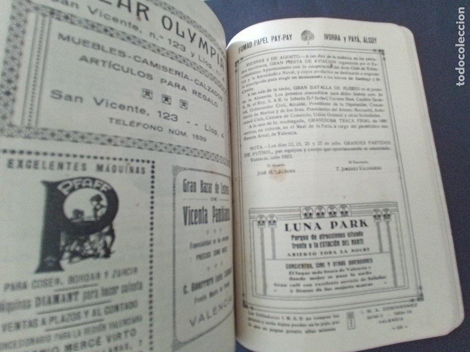 Coleccionismo: CTC - PROGRAMA FESTEJOS VALENCIA FERIA 1922 - PORTADA L. DUBON - MARAVILLOSO E IDEAL CONSERVADO - Foto 13 - 174084304