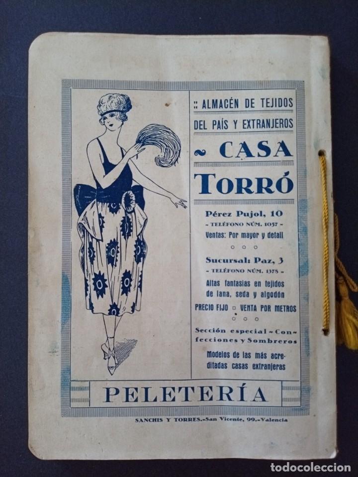 Coleccionismo: CTC - PROGRAMA FESTEJOS VALENCIA FERIA 1922 - PORTADA L. DUBON - MARAVILLOSO E IDEAL CONSERVADO - Foto 16 - 174084304