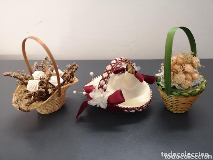 Coleccionismo: Lote miniaturas recuerdo bodas y bautizos - Foto 7 - 174143168