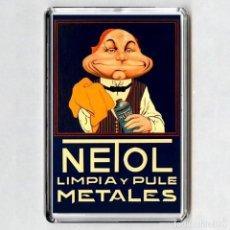 Colecionismo: IMAN ACRÍLICO NEVERA - NETOL. Lote 174216422