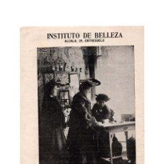 Coleccionismo: PROGRAMA. TEATRO LARA. 1904. LA PRENSA. SOCIEDAD ANUNCIADORA.PURGANTE AGUA DE LOECHES. INST. BELLEZA. Lote 174372815