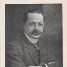Coleccionismo: PROFESOR H. VINCENT (PARIS) - CELEBRIDADES MÉDICAS DEL MUNDO - EDIT. DESCHIENS - (10,6X15,5). Lote 174500048