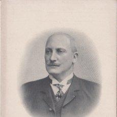 Coleccionismo: PROFESOR RAPHAEL BLANCHARD (PARIS) - CELEBRIDADES MÉDICAS DEL MUNDO - EDIT. DESCHIENS - (10,6X15,5). Lote 174500068