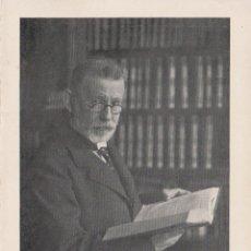 Coleccionismo: PROFESOR EHRLICH (FRANCFORT) - CELEBRIDADES MÉDICAS DEL MUNDO - EDIT. DESCHIENS - (10,6X15,5). Lote 174500145