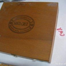 Coleccionismo: ANTIGUA CAJA DE PUROS SANTA CRUZ. Lote 174520487