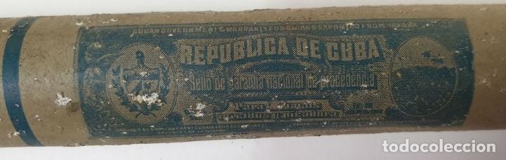 Coleccionismo: COLECCION DE PRODUCTOS PARA FUMADOR. ENCENDEDORES, PUROS Y PAPEL. SIGLO XX. - Foto 12 - 174889270
