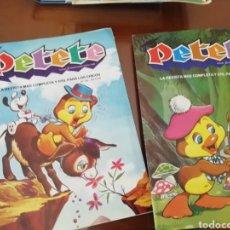 Coleccionismo: EL LIBRO GORDO PETETE. 1982. 4 CAPÍTULOS. HISTÓRICO. Lote 174958167