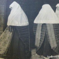 Coleccionismo: ANSO HUESCA MUJERES ANSOTANAS ANTIGUA LAMINA HUECOGRABADO AÑOS 30. Lote 174968073